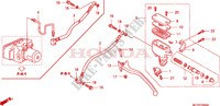 MAITRE-CYLINDRE FREIN AR. CYLINDRE Chassis 600 honda-moto SILVERWING 2009 F__0500