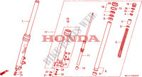 FOURCHE pour Honda BIG ONE 1000 50HP de 1996