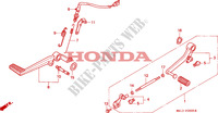 PEDALE pour Honda BIG ONE 1000 50HP de 1996