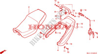 SELLE pour Honda BIG ONE 1000 50HP de 1996