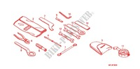 OUTILS Chassis 600 honda-moto CBR 2009 F_30