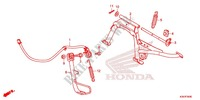 BEQUILLE Chassis 125 honda-moto PCX 2017 F_35